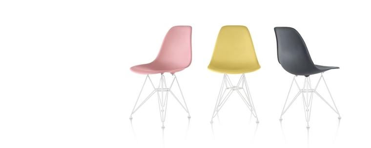 originales sillas modelo eames colores