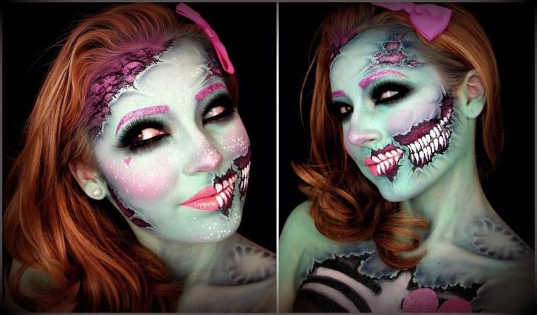 originales diseños maquillajes Halloween
