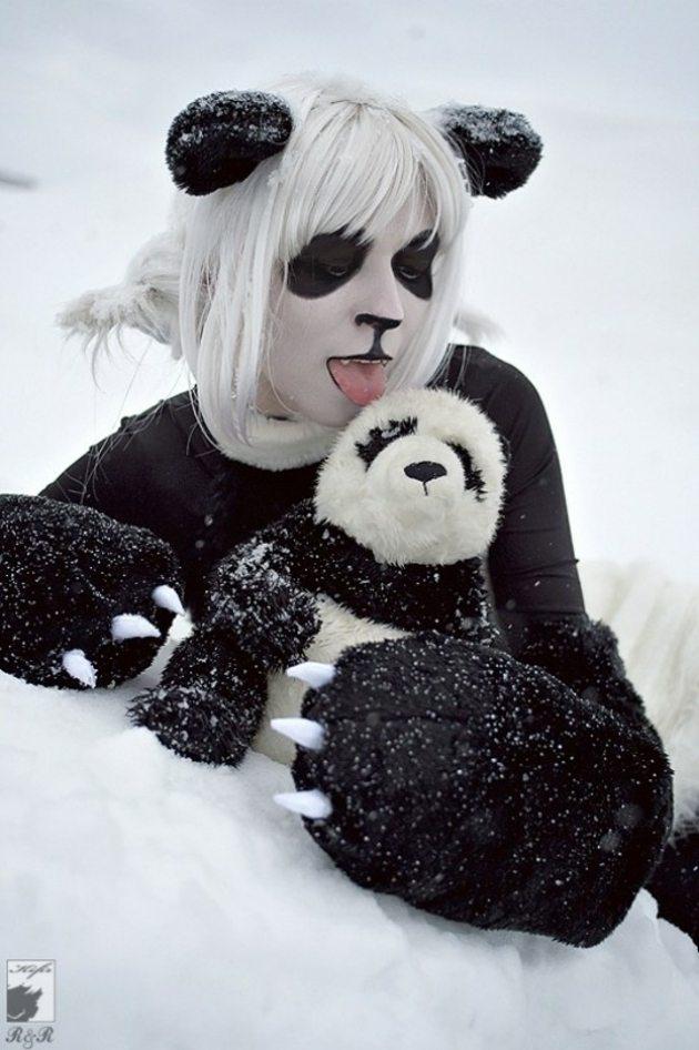 panda oso inspiracion naturaleza nieve