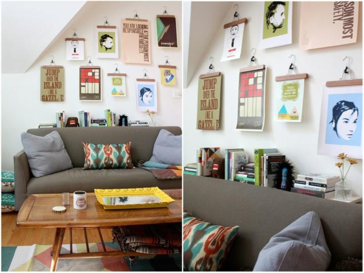 paredes decoracion coloridos salones ideas