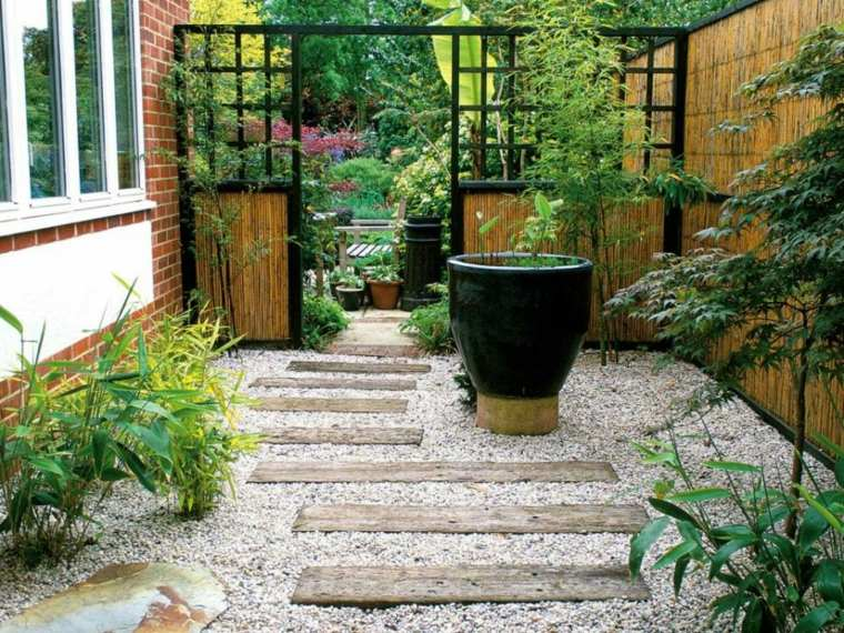 patio diseño estilos muestras madera