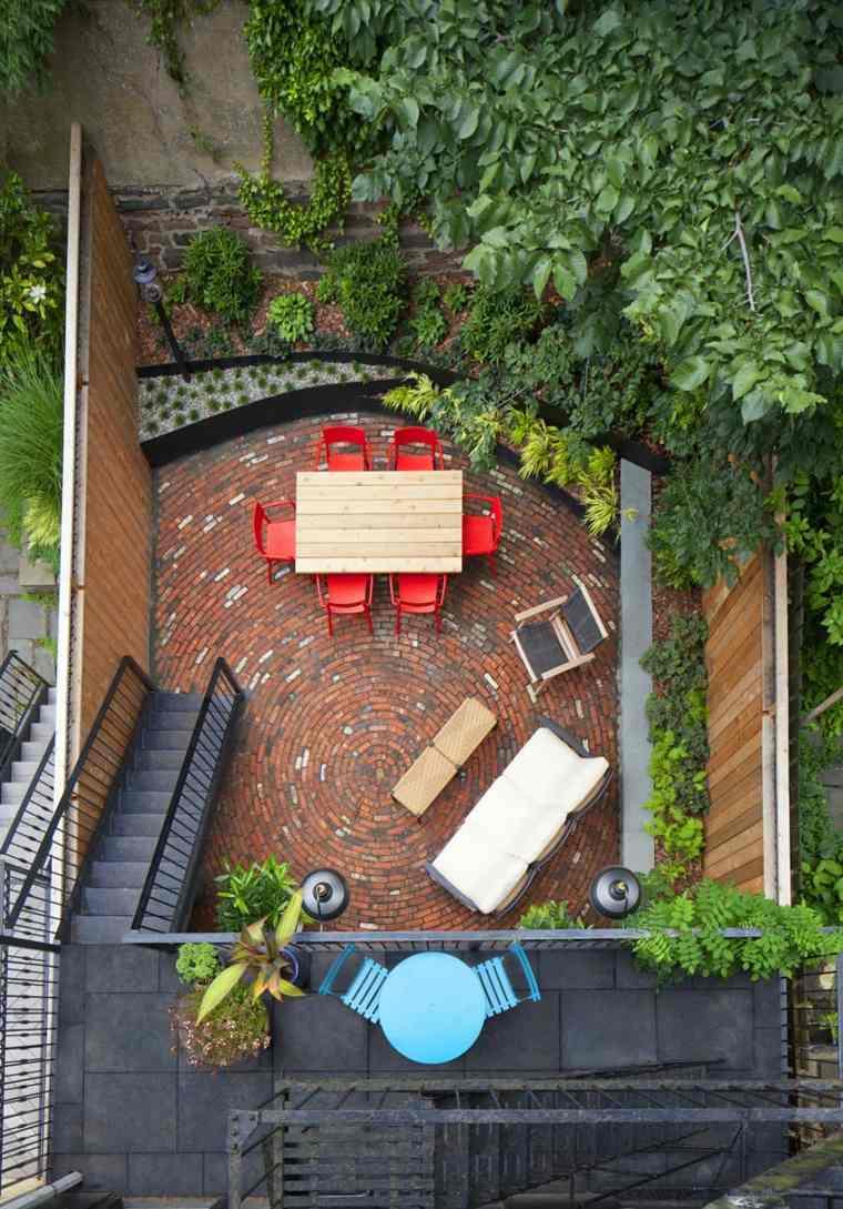 patio diseño superior color aspectos