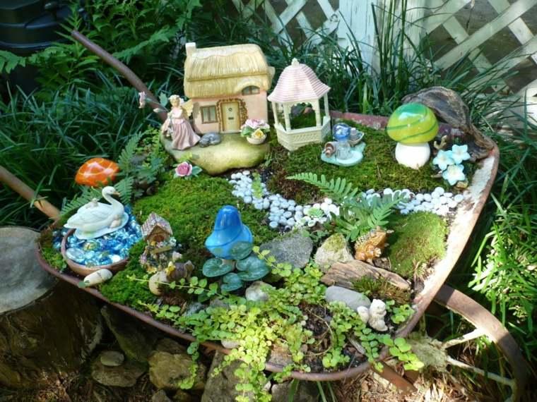 patios rústicos diminutos