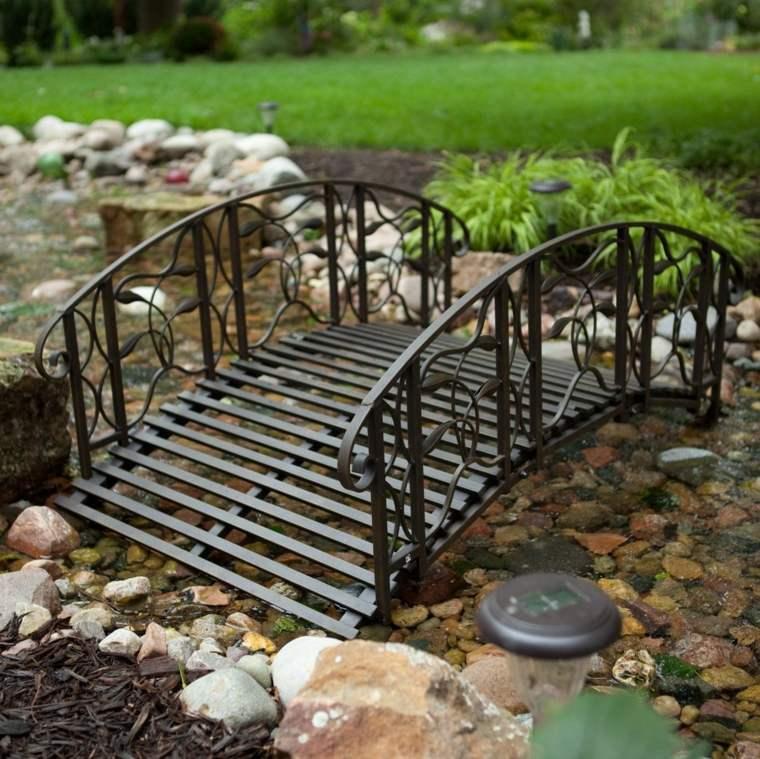 patios rústicos puente