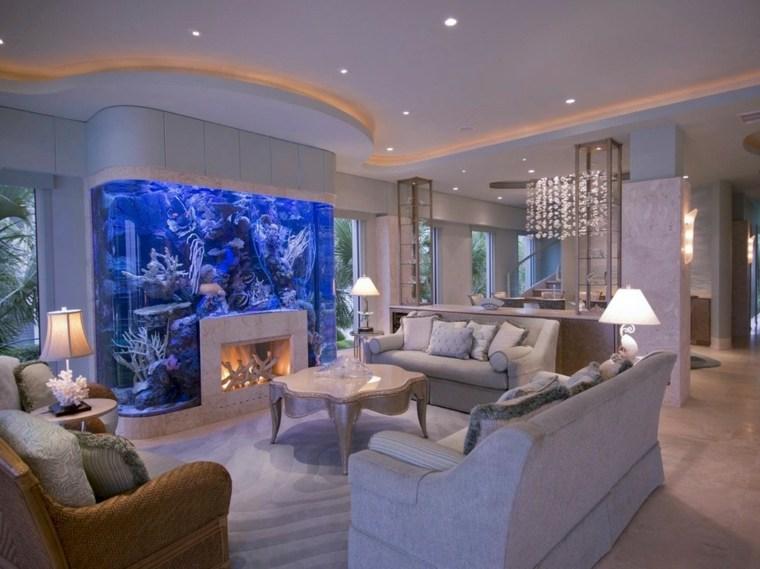 Acuarios grandes para el interior for Grado superior decoracion de interiores