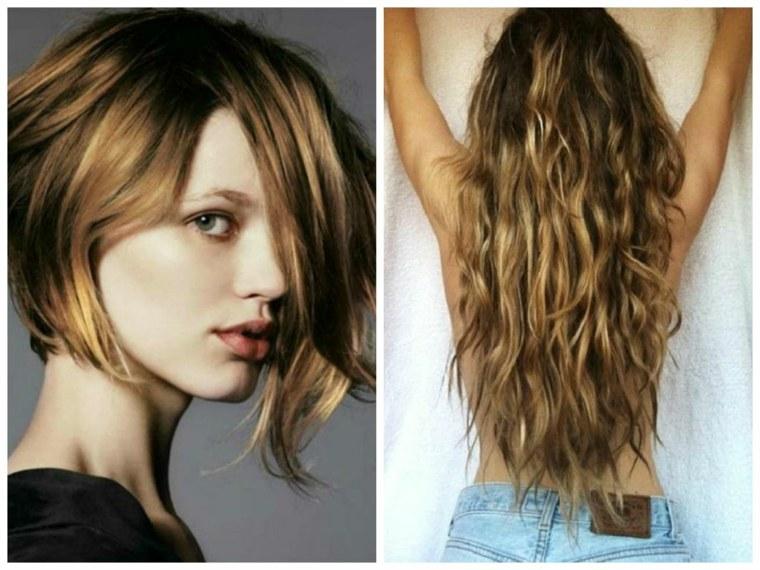 peinados de otoño chicas rubias