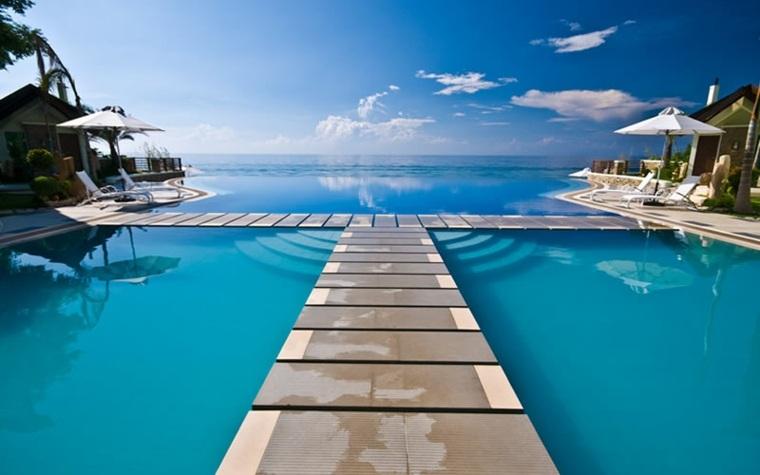 piscinas grandes modernas