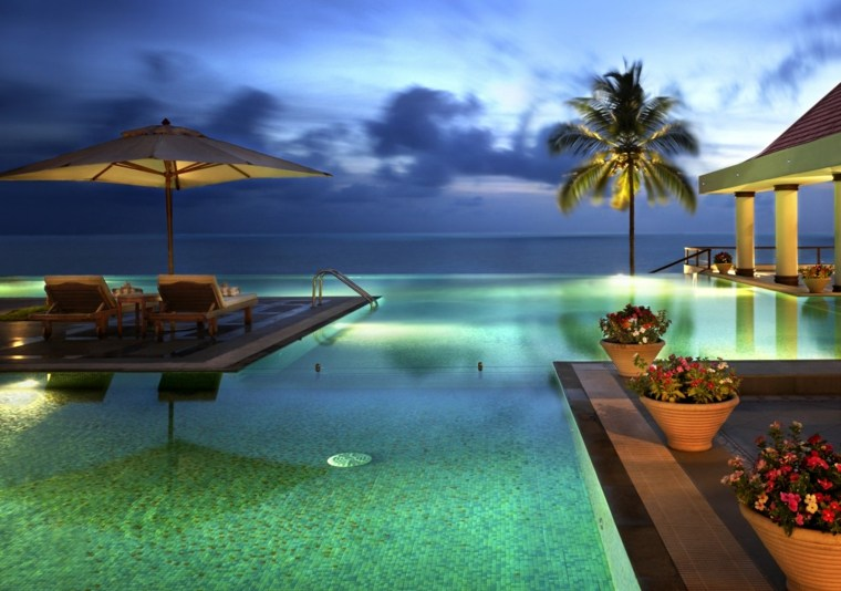 piscinas infinitas mar