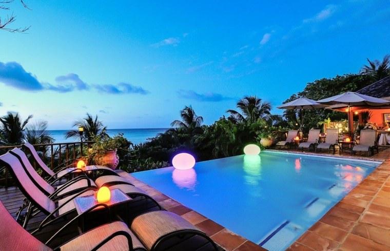 piscinas para jardín relajarse