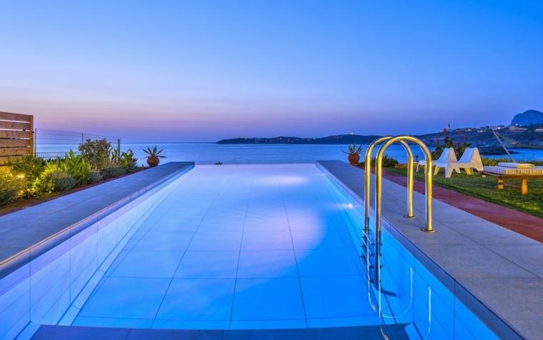 piscinas rectangulares infinitas