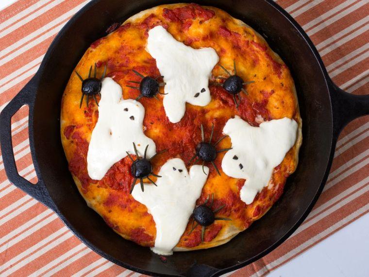 platos para halloween creativos
