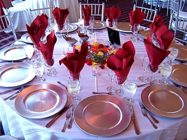 protocolo de mesa elegante