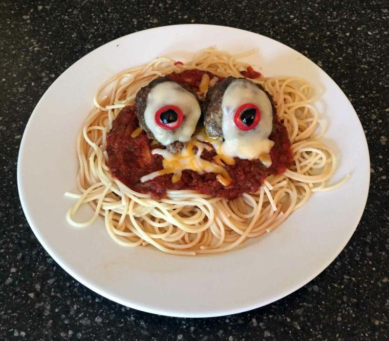 recetas de cocina para halloween pasta