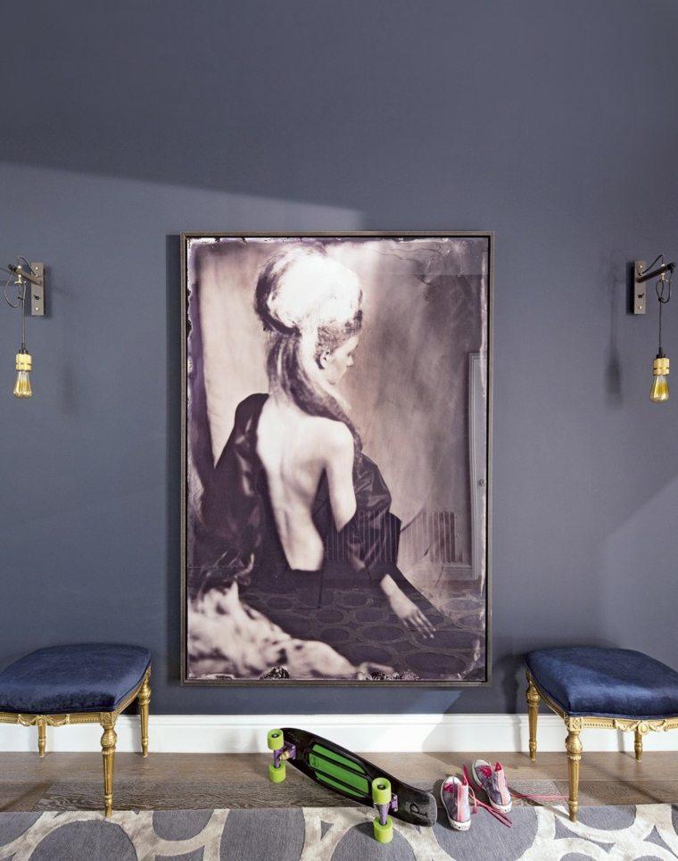 Recibidores baratos para un hogar pr ctico for Cuadros baratos para decorar