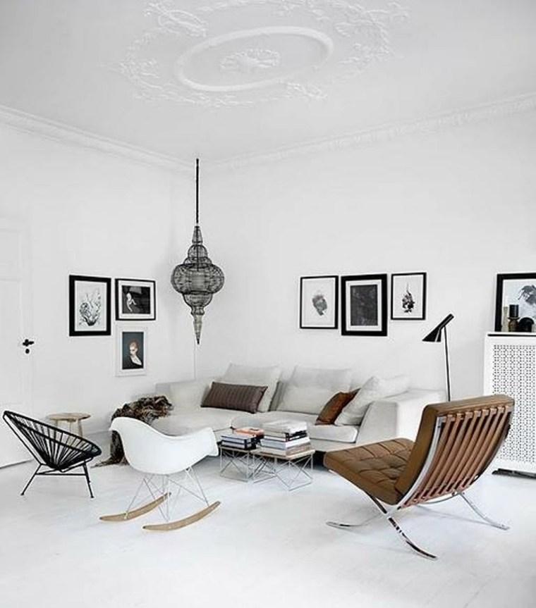 sala estar mecedora marca Eames