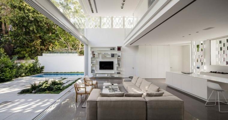 salon abierto jardin Pitsou Kedem Architects ideas