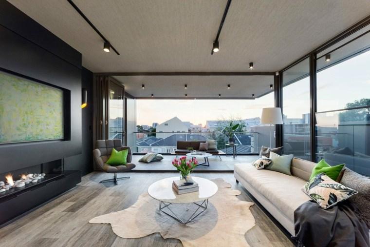 salon abierto terraza diseno LSA Architects ideas