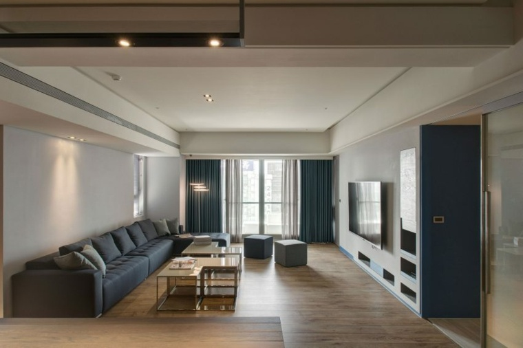 salon amplio sofa grande Taipei Base Design Center ideas