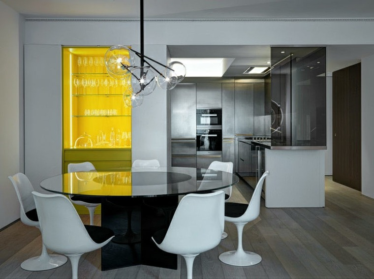 Dise o interior de lo m s cool 42 ideas espectaculares - Diseno salon comedor ...