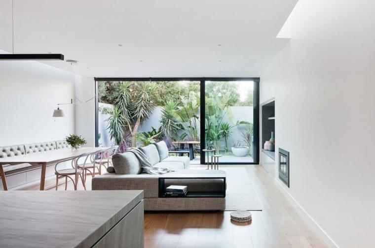 salon comedor espacio pequeno Robson Rak Architects ideas