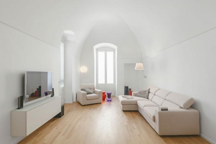 salon diseno simple moderno Salvatore Cannito ideas