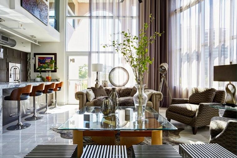 salones con encanto atractivo lujoso Chairma Design Group ideas