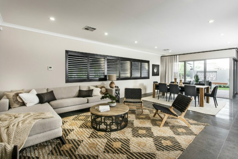 salones con encanto combinacion colores Jodie Cooper Design ideas
