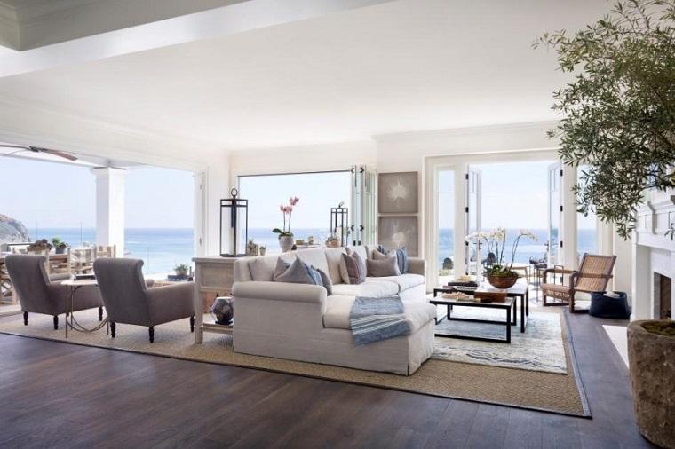 salones con encanto diseno espacio amplio Brown Design Group ideas
