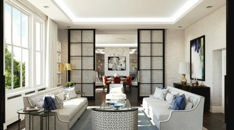 salones con encanto diseno moderno Falchi Interiors ideas