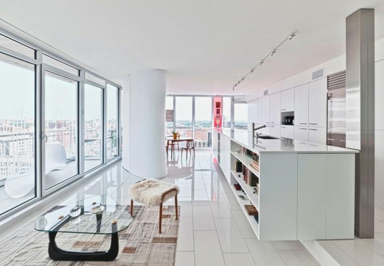 separadores ambientes habitaciones diseno Kariouk Associates ideas