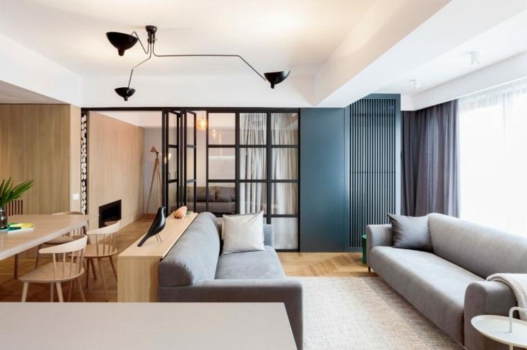 separadores ambientes habitaciones diseno Rosu ciocodeica ideas