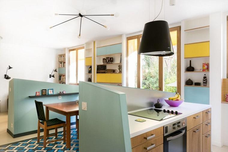 separadores originales paredes casa moderna ideas