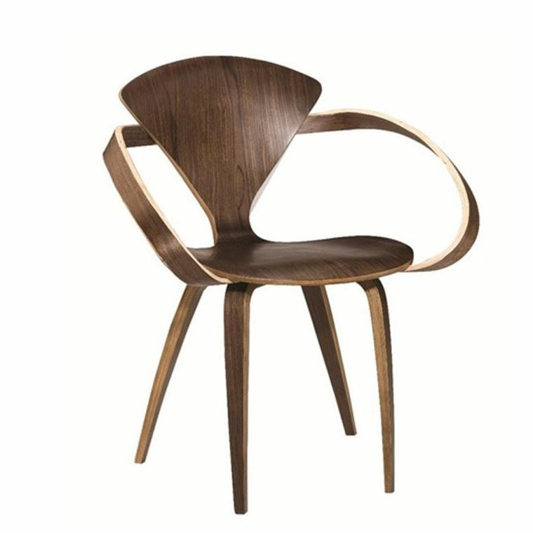 silla original diseno madera