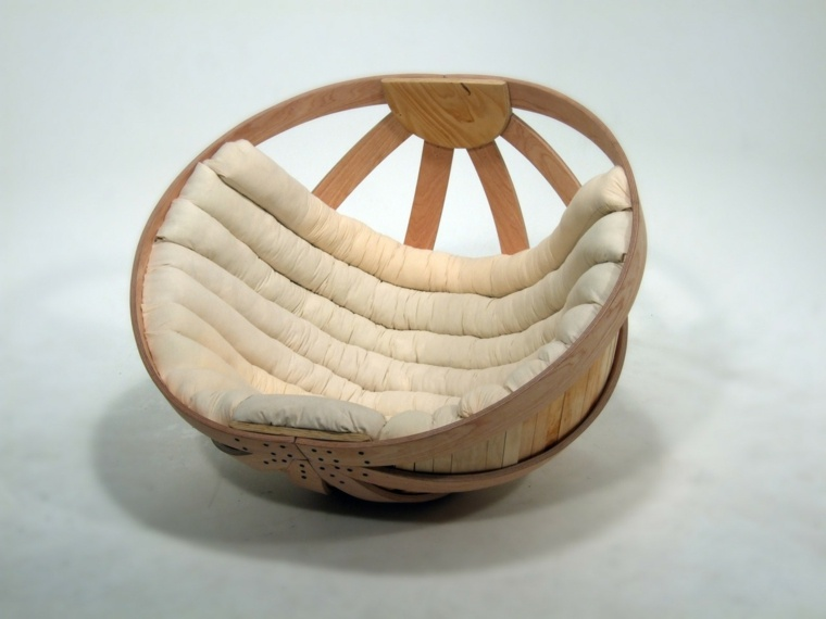 sillas originales redondas