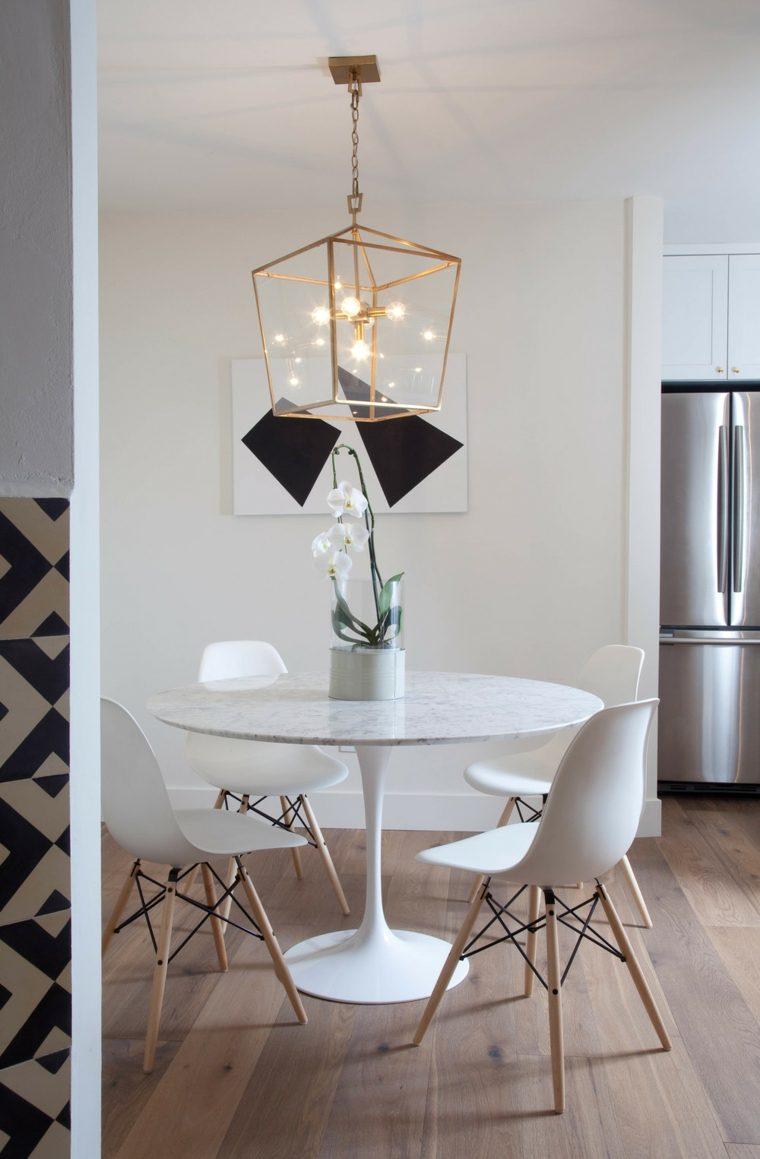 sillas comedor Eames blancas