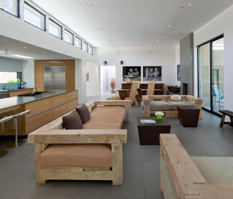 sofas oriogunales madera natural