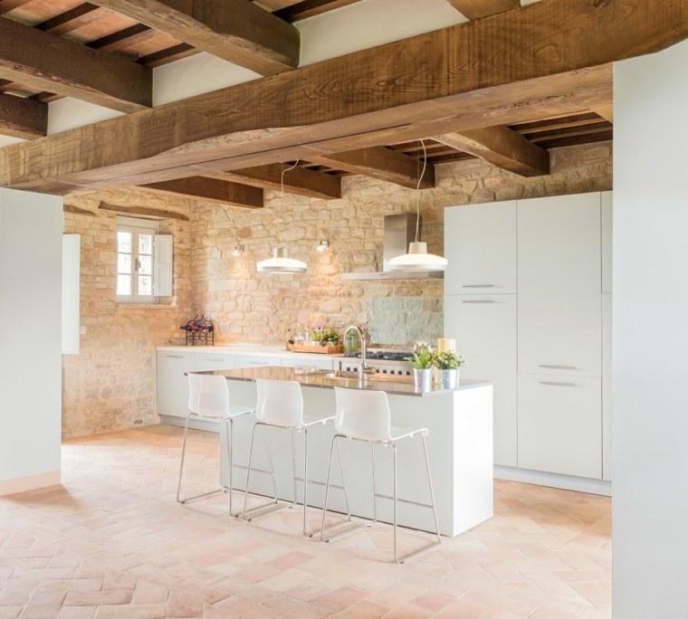 suelo-radiante-piedra-adoquines-cocina