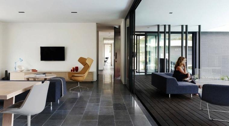 suelo radiante piedra dKO Architecture ideas
