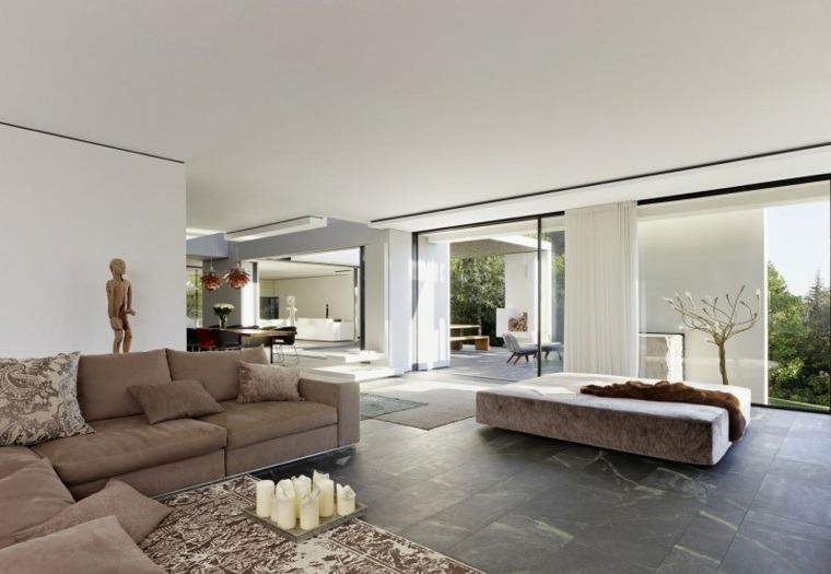 suelo radiante piedra salon Alexander Brenner Architekten ideas