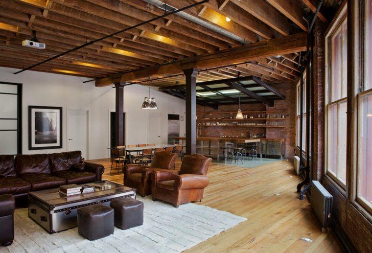 techados de madera enteros