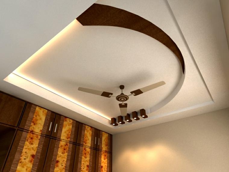 techo de madera colgante