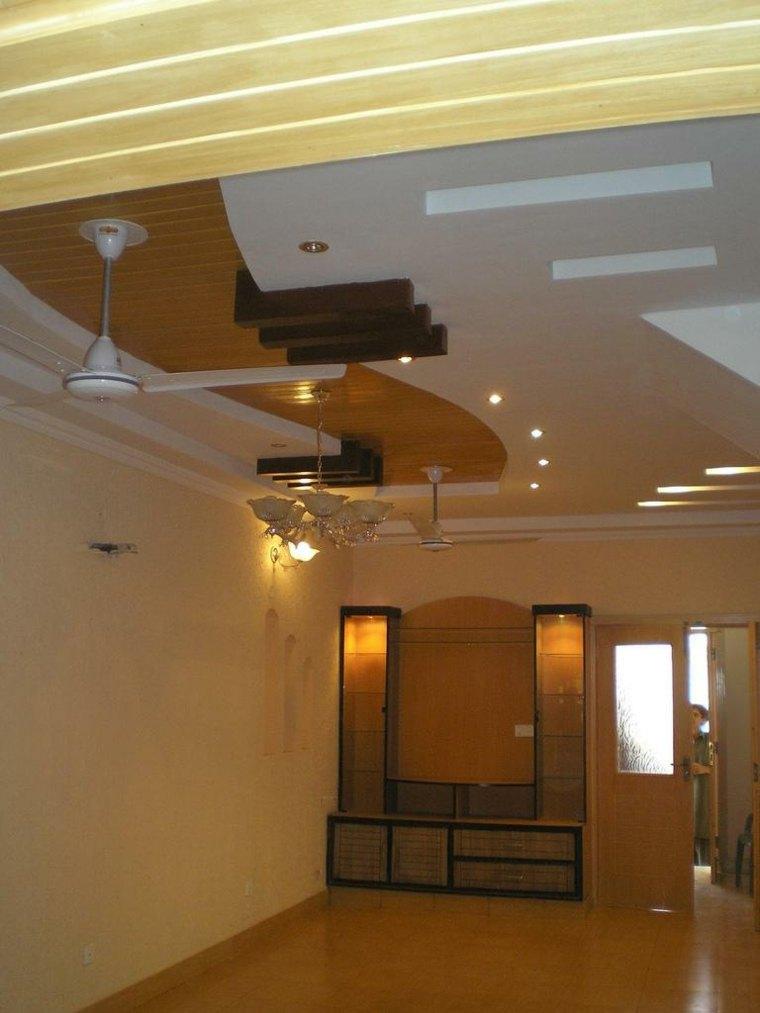 techo de madera curvado