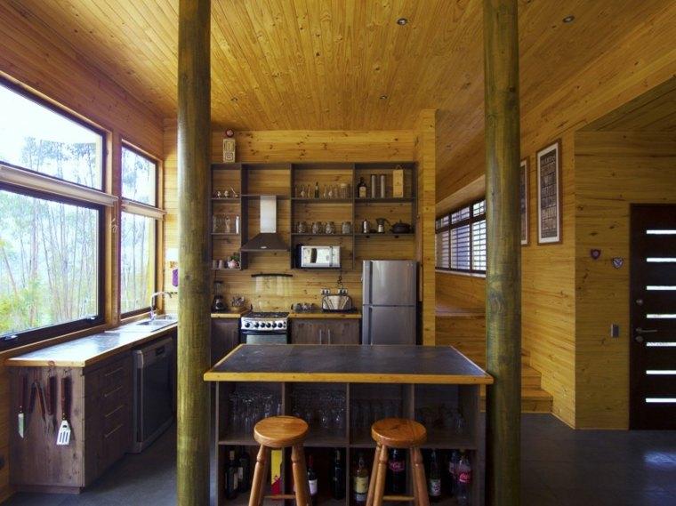 techos de madera diseno interiores casa disenada ideas CO2 Arquitectos