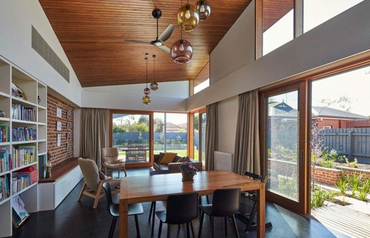 techos madera diseno interiores casa disenada Guild Architects ideas