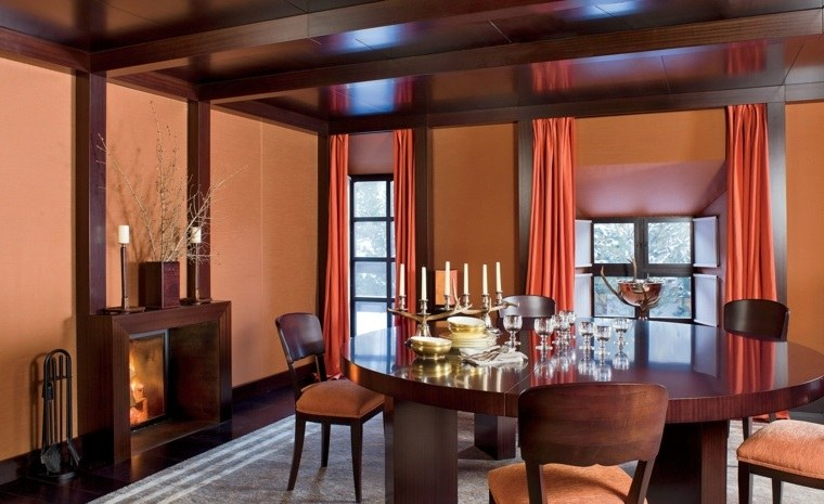 techos madera diseno interiores opciones ideas comedor