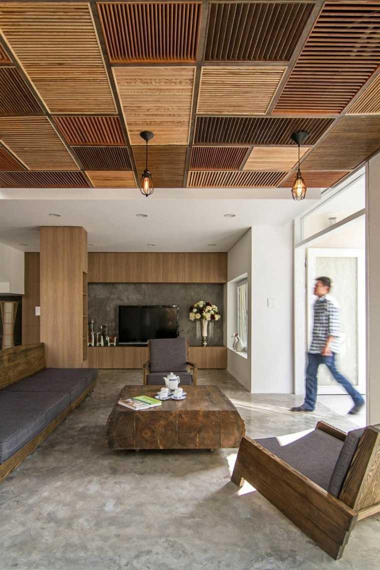techos-de-madera-salon-diseno-moderno-original
