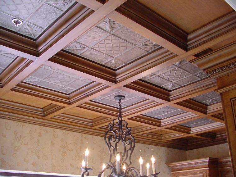 techos de madera interiores tradicionales