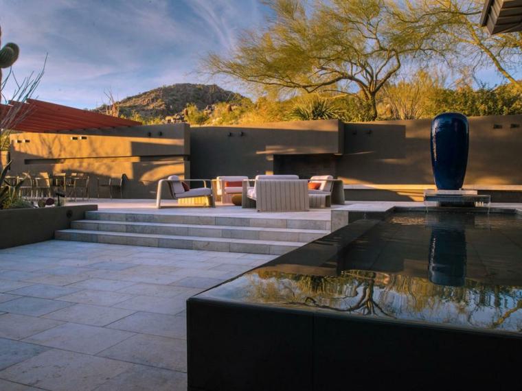 diseño terraza moderna estilo minimalista