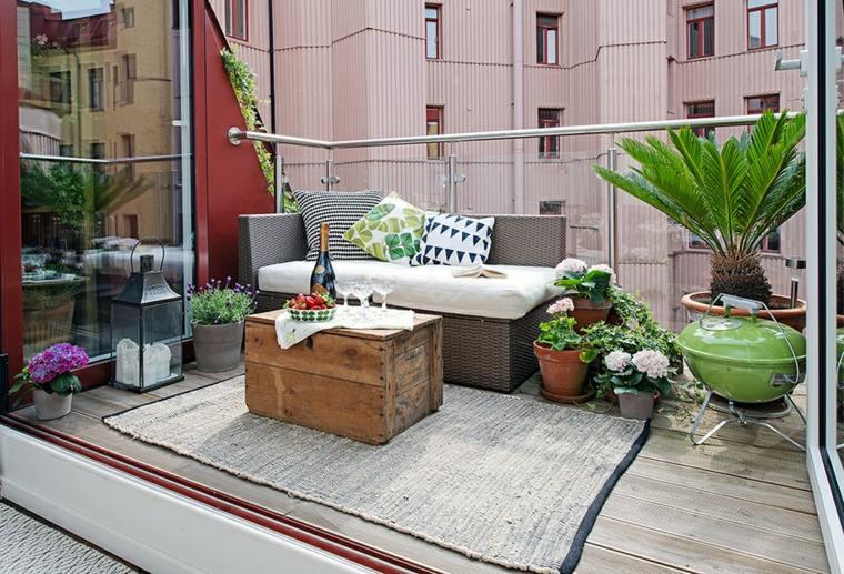 terraza diseño decroacion boho