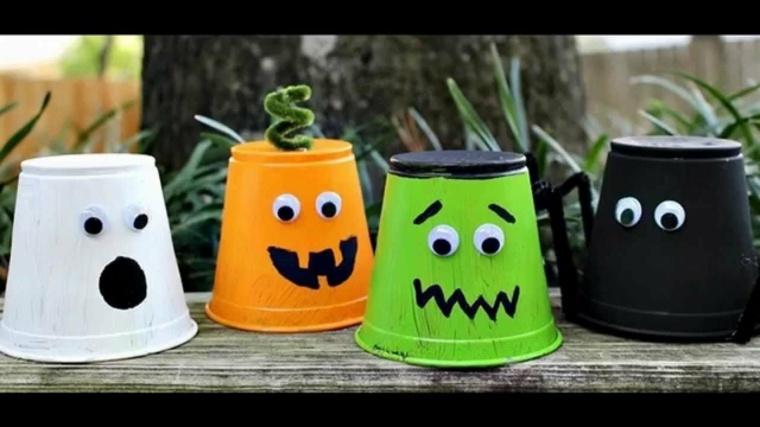 manualidades para halloween f ciles de hacer On trabajos manuales para halloween